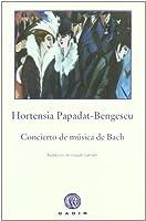 Cocierto de música de Bach