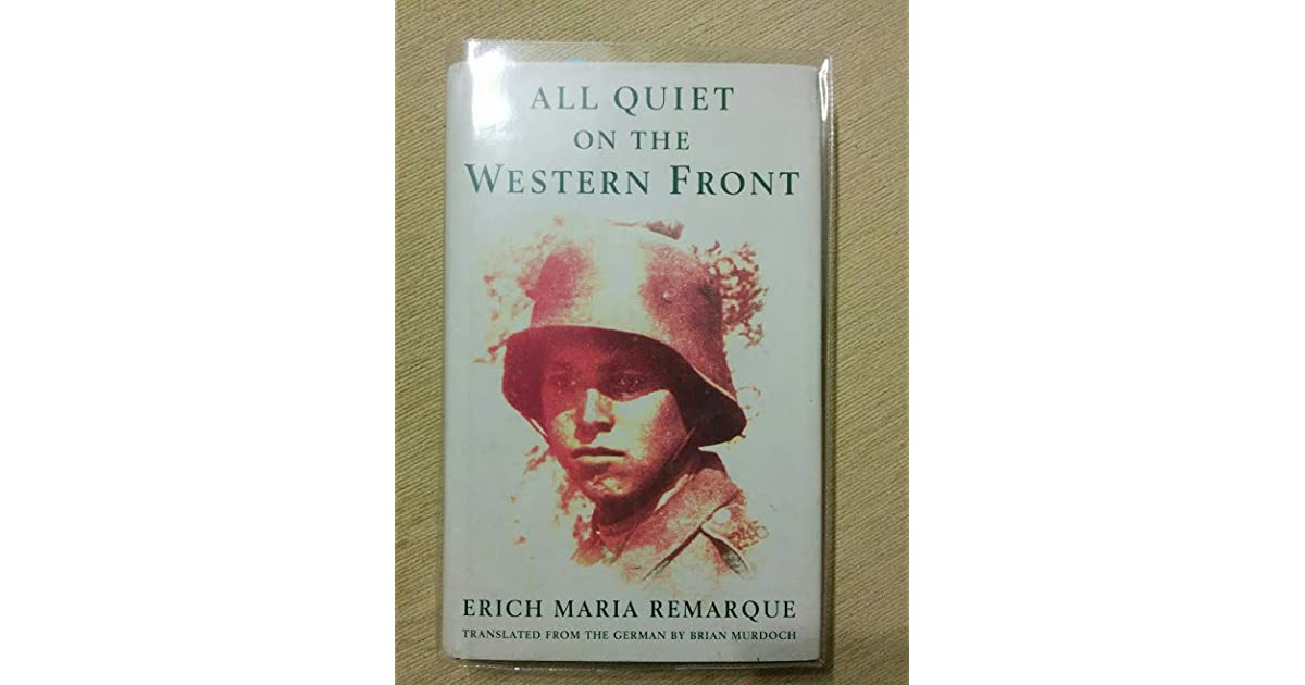 the destruction of an entire generation of men in all quiet on the western front by erich maria rema All quiet on the western front all quiet on the western front all quiet on the western front is a novel written by erich maria remarque it is a war novel that tells the story of a young man and his experiences in combat during world war i.