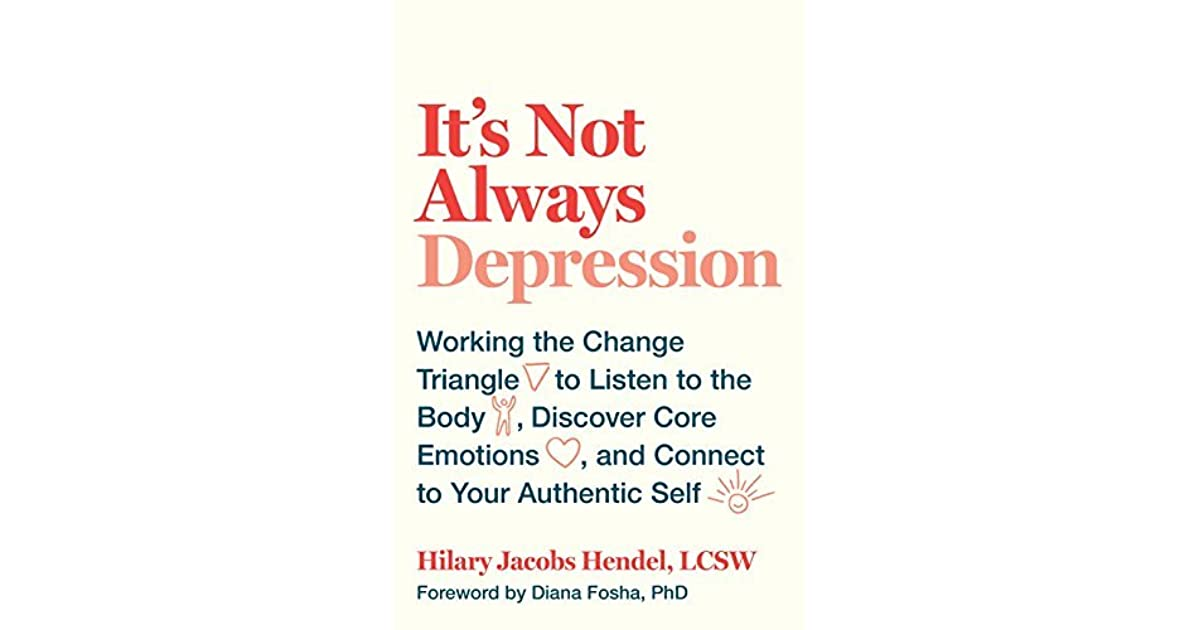it s not always depression working the change triangle to listen