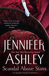 Scandal Above Stairs (Kat Holloway Mysteries, #2)