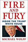 Book cover for Fire and Fury: Inside the Trump White House