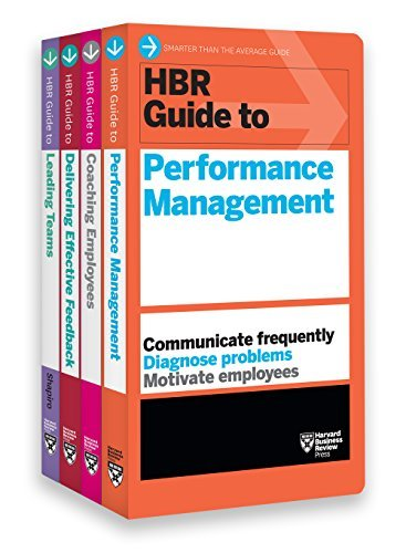 HBR Guides to Performance Management Collection 4 Books
