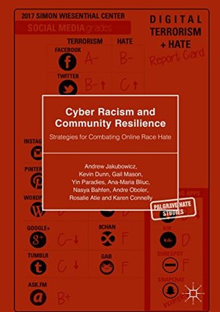Cyber Racism and Community Resilience: Strategies for Combating Online Race Hate (Palgrave Hate Studies)