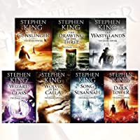 Stephen King Dark Tower Collection 7 Books Bundle (The Gunslinger, The Drawing of the Three, The Waste Lands, Wizard and Glass, Wolves of the Calla, Song of Susannah, The Dark Tower)