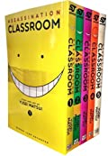 Assassination Classroom Yusei Matsui Volume 1-5 Collection 5 Books Set