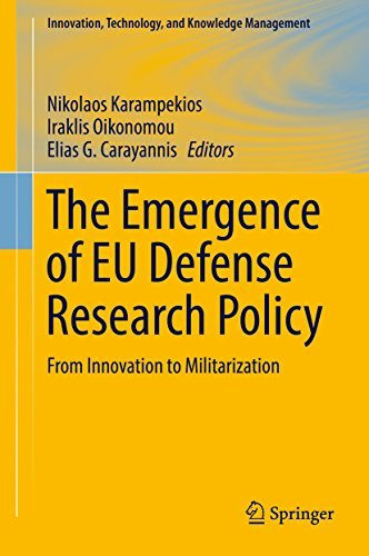 The Emergence of EU Defense Research Policy From Innovation to Militarization