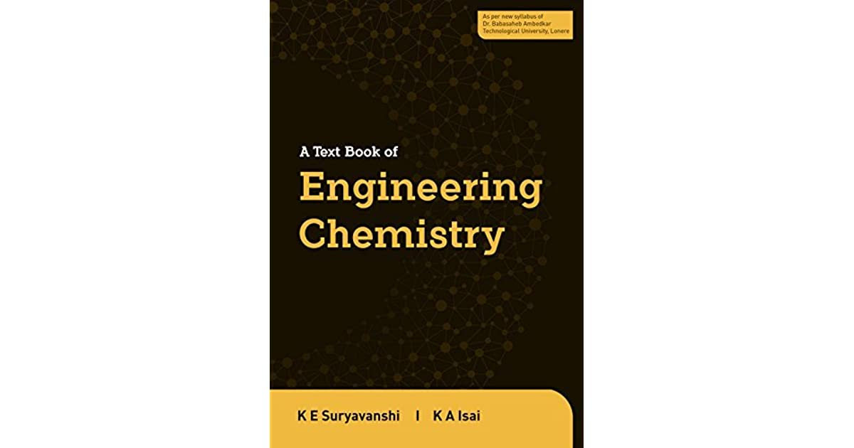 Engineering Chemistry Book
