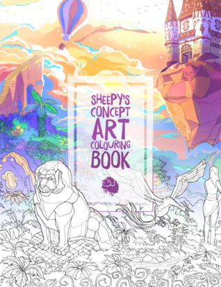 MrSuicideSheep's Concept Art Colouring Book