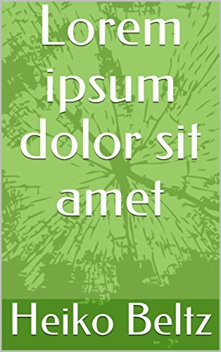 Lorem ipsum dolor sit amet  by  Heiko Beltz