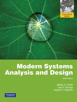 Modern Systems Analysis And Design Global Edition By Jeffrey Hoffer