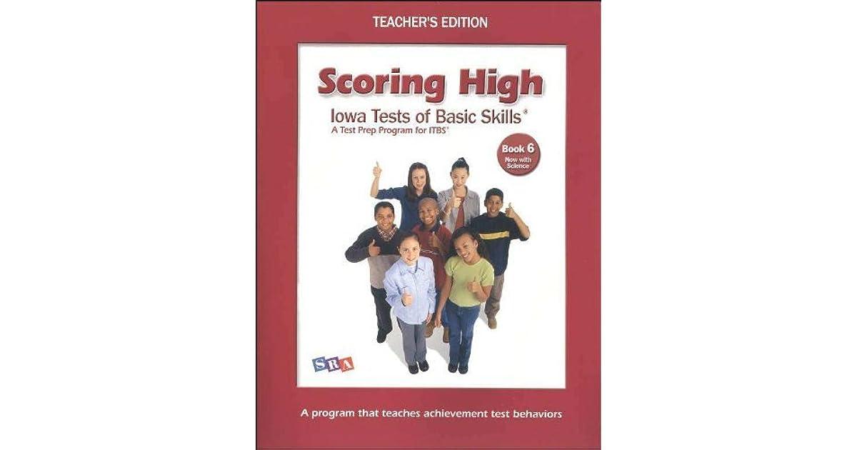 Scoring Higher Iowa Tests of Basic Skills: A Test Prep Program for