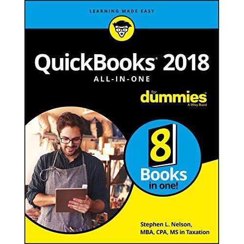 quickbooks 2014 all in one for dummies nelson stephen l