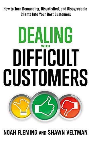 Book cover Dealing with Difficult Customers
