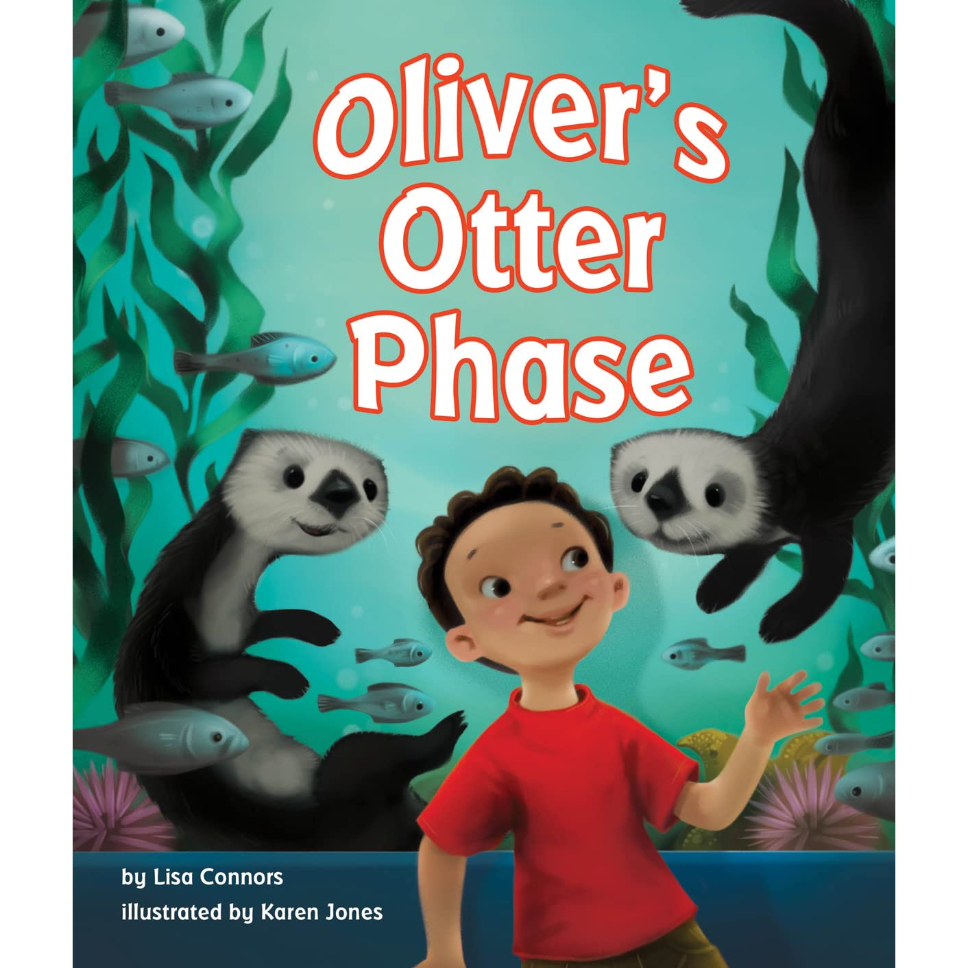 Ollie Otters Day at the Beach (A Self Read Learn (Animal Tails Book 2)