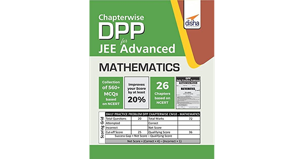 Chapter-wise DPP Sheets for Mathematics JEE Advanced by