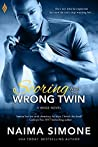 Book cover for Scoring With the Wrong Twin (WAGS, #1)