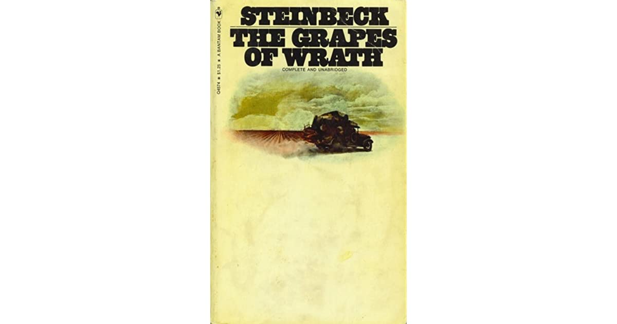 a testament to endurance in the grapes of wrath by john steinbeck
