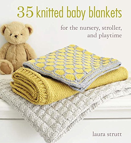 35 Knitted Baby Blankets For the nursery, stroller, and playtime