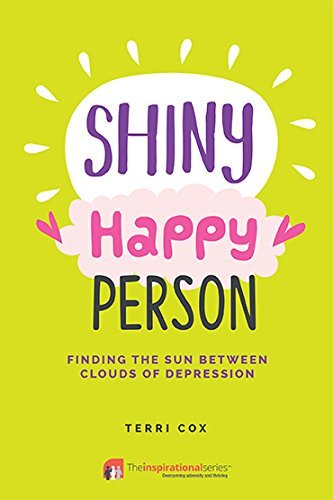 Shiny Happy Person Finding the Sun Between Clouds of Depression