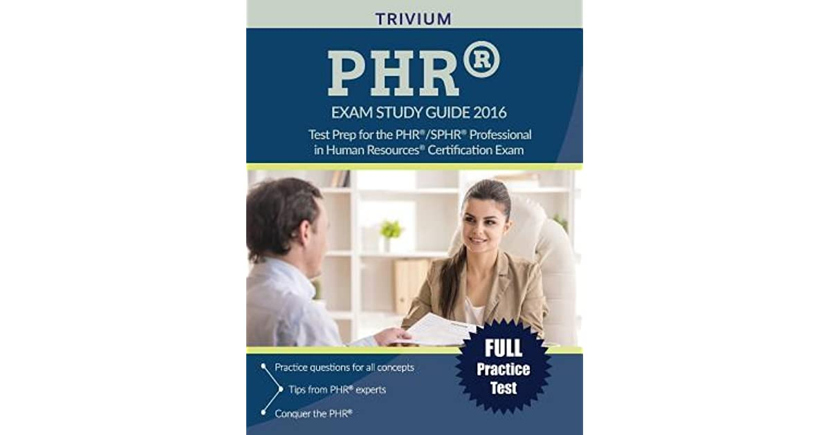 Phrr Sphrr Exam Study Guide 2016 Test Prep For The Phrr