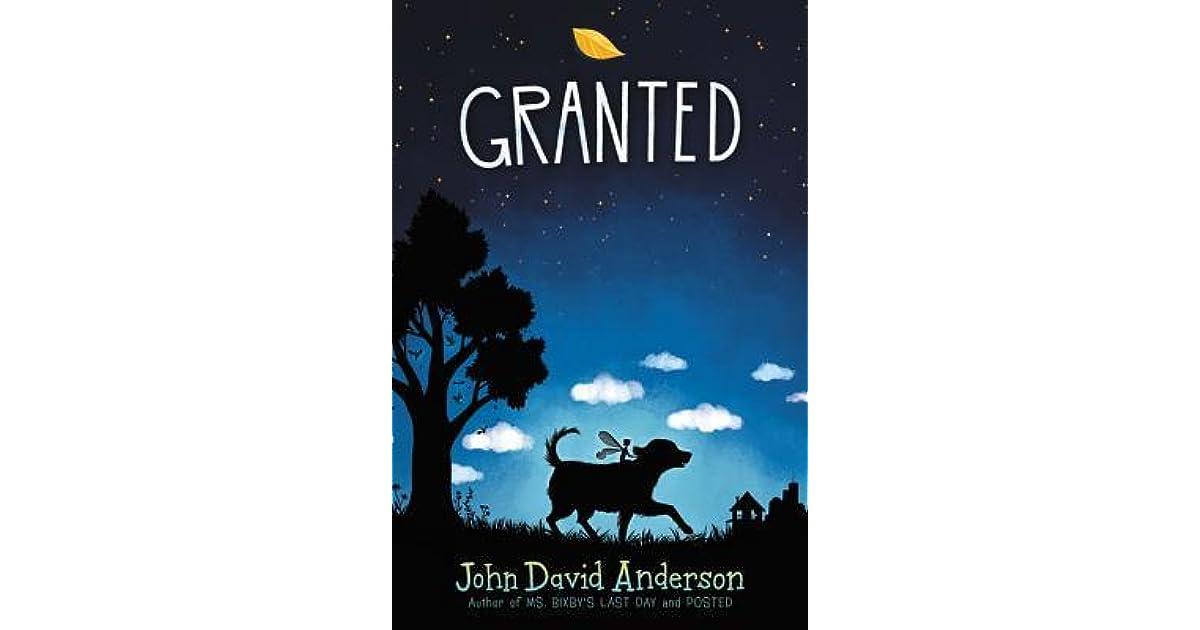 Granted by John David Anderson