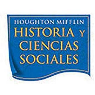 Houghton Mifflin Social Studies Spanish: Resr&writg Proj Blm L2