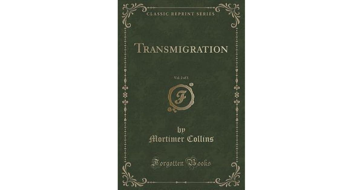 Transmigration, Vol  2 of 3 by Mortimer Collins