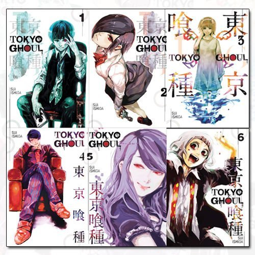 Tokyo Ghoul Ghoul Roblox Tokyo Ghoul Volume 1 6 Collection 6 Books Set By Sui Ishida