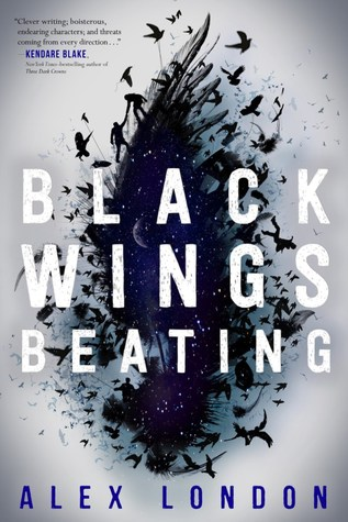 Black Wings Beating (Skybound, #1)