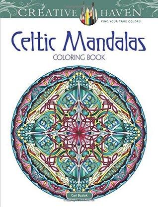 Creative Haven Celtic Mandalas Coloring Book