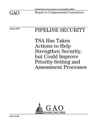 Pipeline Security: Tsa Has Taken Actions to Help Strengthen Security, But Could Improve Priority-Setting and Assessment Processes: Report to Congressionial Committees.
