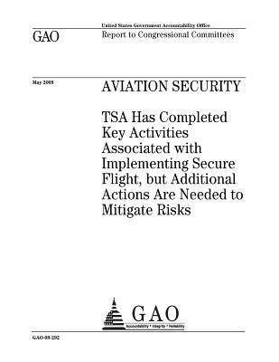 Aviation Security: Tsa Has Completed Key Activities Associated with Implementing Secure Flight, But Additional Actions Are Needed to Mitigate Risks