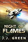 Night of Flames (Space Colony One #0.5)