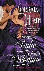 When a Duke Loves a Woman (Sins for All Seasons, #2)
