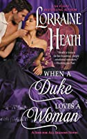 When a Duke Loves a Woman (Sins for All Seasons, #2)