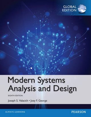 Modern Systems Analysis And Design By Joseph S Valacich