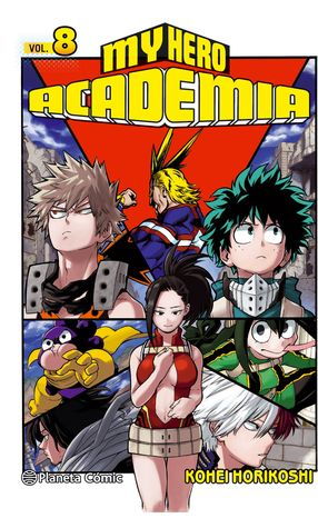 僕のヒーローアカデミア 8 [Boku No Hero Academia 8] by Kohei