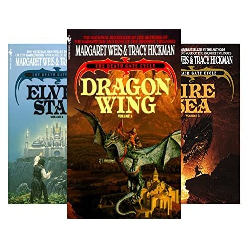 a literary analysis of the dragon wing from the death gate cycle series Dragon wing: the death gate cycle except for the annoyingly inexplicable presence of a character from another series the team has written 'dragon wing' itself.