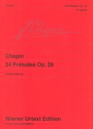 24 Preludes Limited Edition Including a (Wiener Urtext)