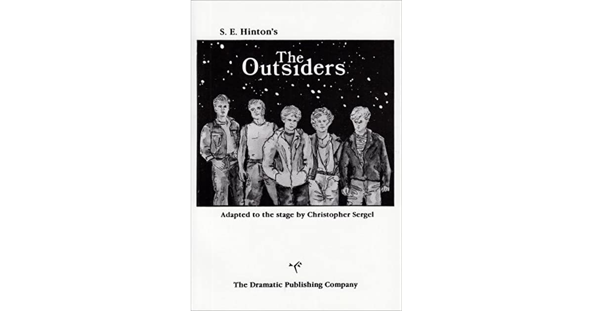 a book report on the outsiders by s e hinton
