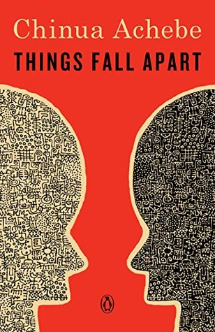 book cover of Penguin edition of Things Fall Apart by Cinua Achebe
