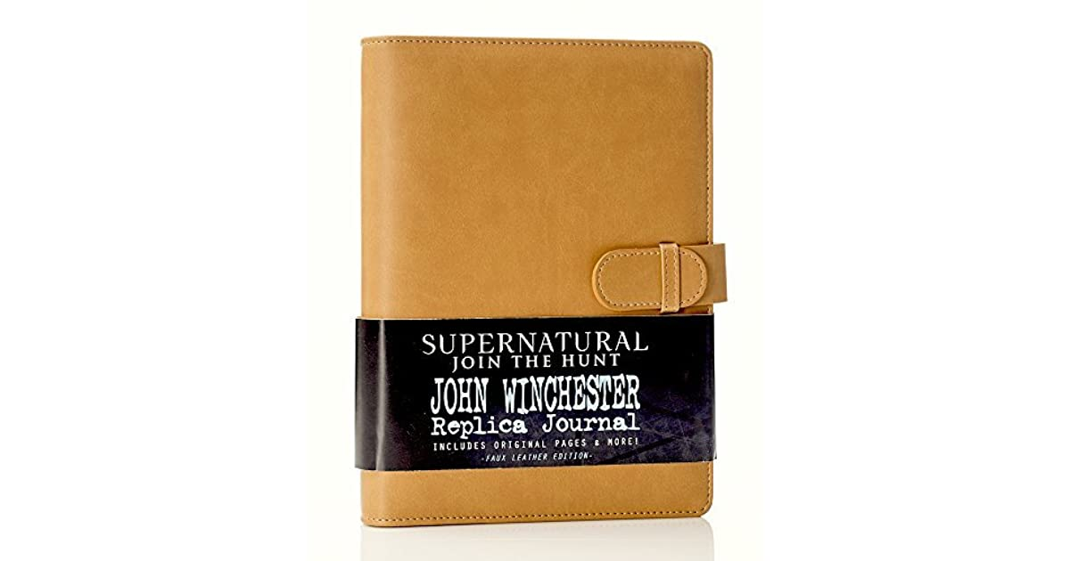 Supernatural John Winchester's Journal by Con*Quest Journals