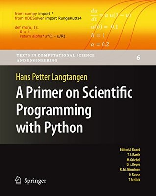 a primer on scientific programming with python: Python programming