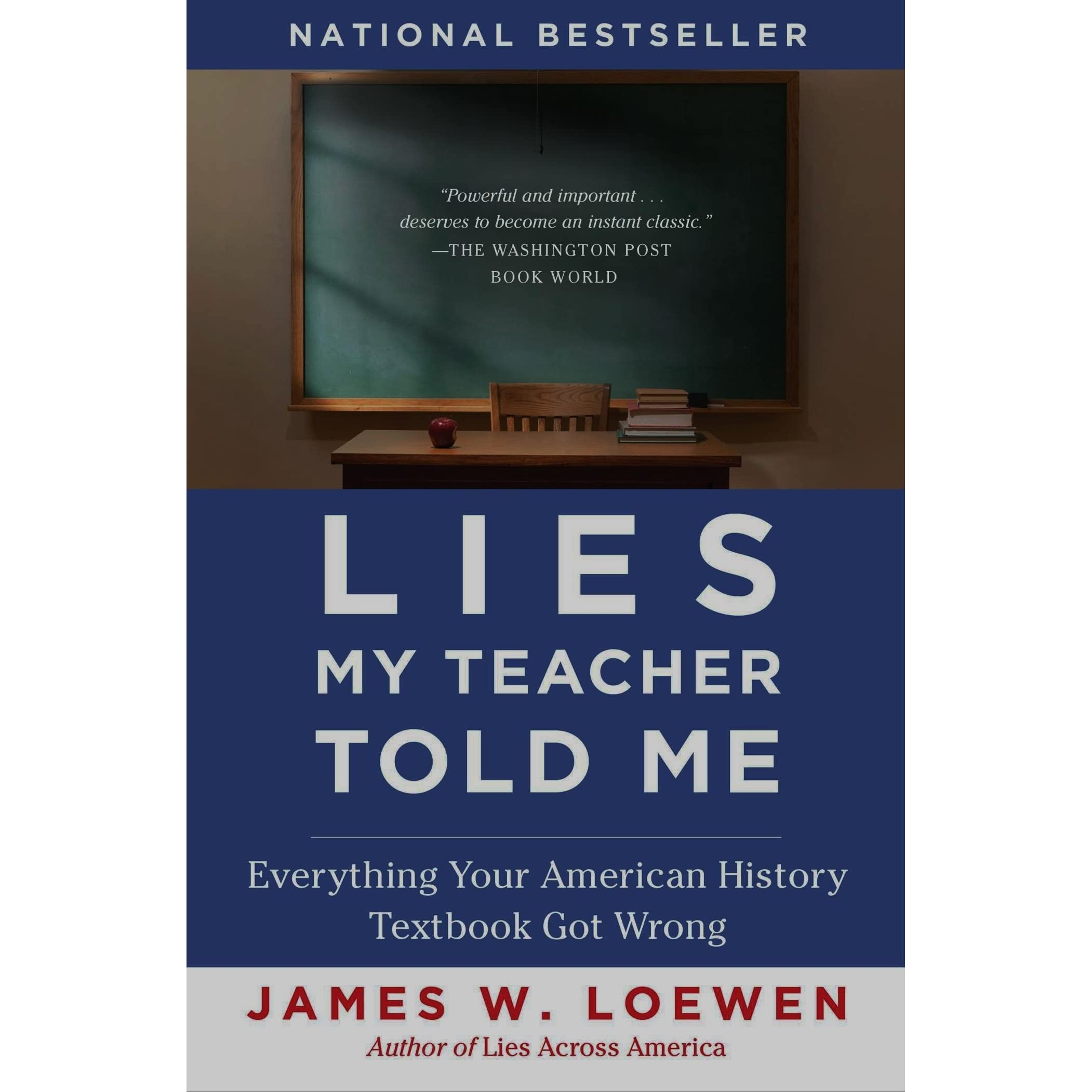 an analysis of james w loewens book lies my teacher told me