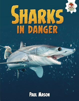 Sharks in Danger cover art with link to Goodreads page