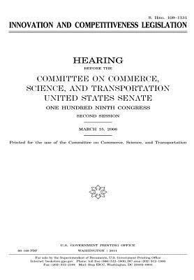 Innovation and Competitiveness Legislation