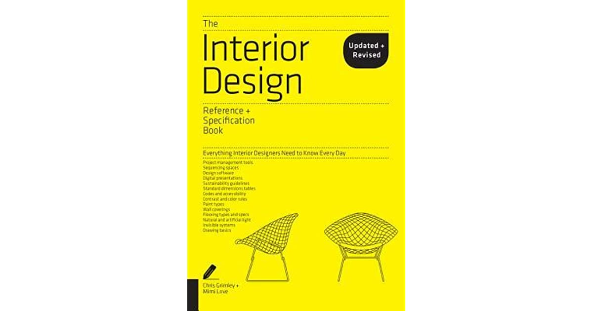 Book Giveaway For The Interior Design Reference