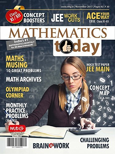 Mathematics Today November 2017