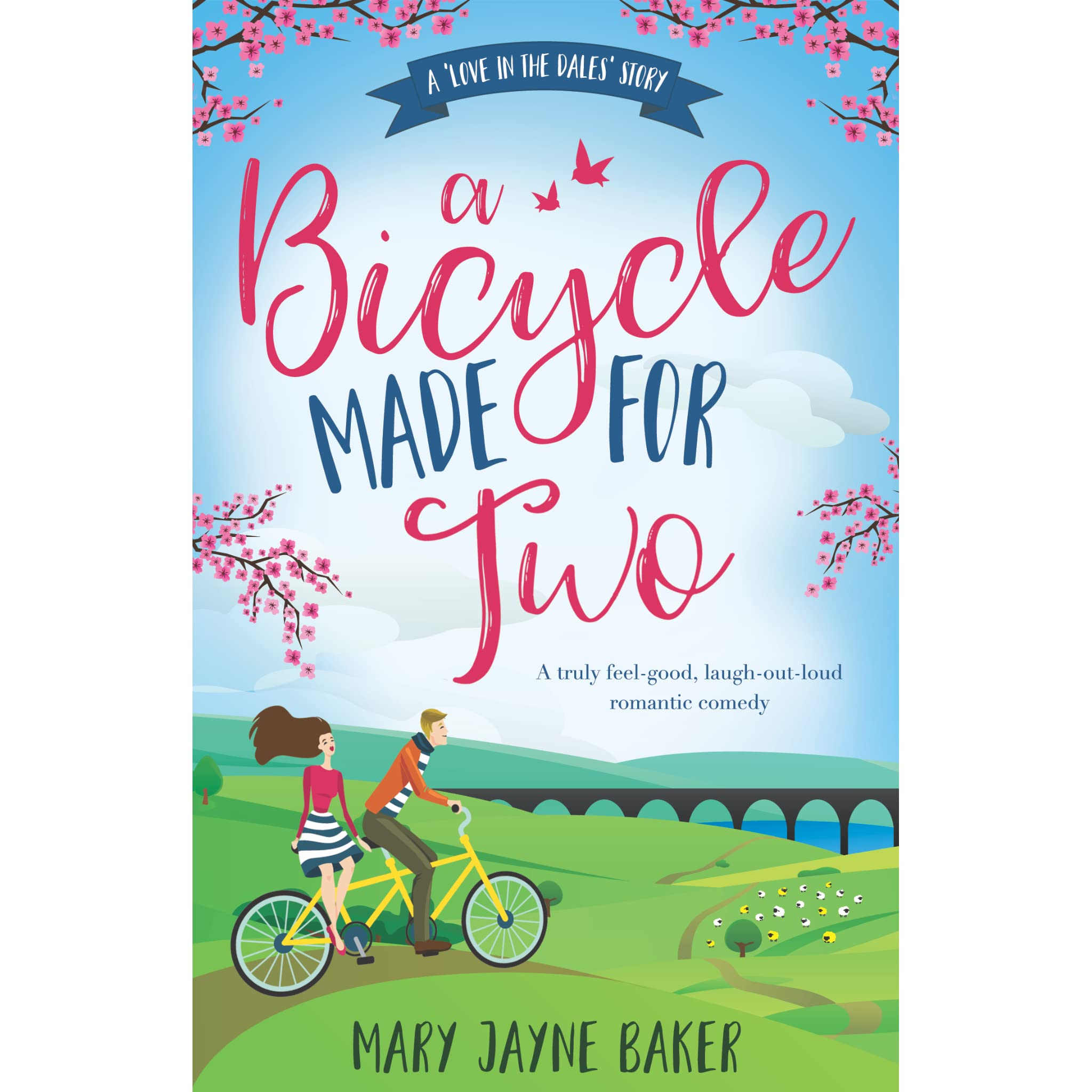 A Bicycle Made For Two Love In The Dales 1 By Mary Jayne Baker