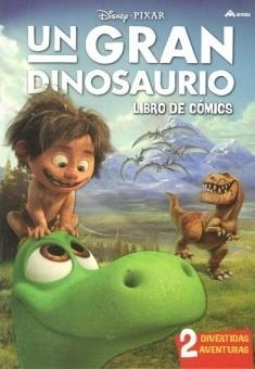 Un gran dinosaurio: Libro de cómics